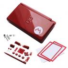 DS Lite Behuizing - Rood met opdruk