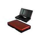 DS Lite Behuizing - Zwart met crimson