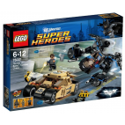 The Bat vs. Bane: Thumbler chase (76001)